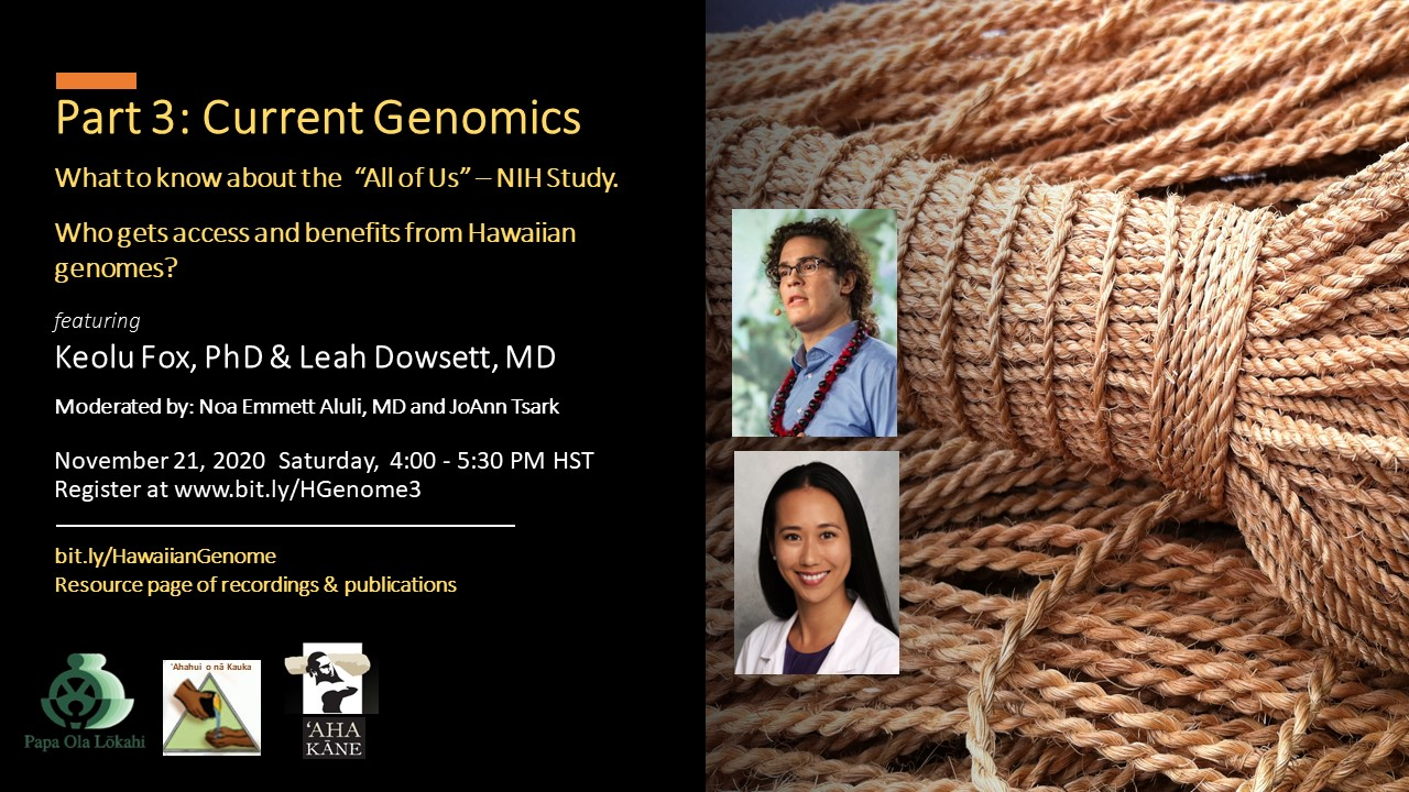 Current Genomics Nov 21 2020 flyer